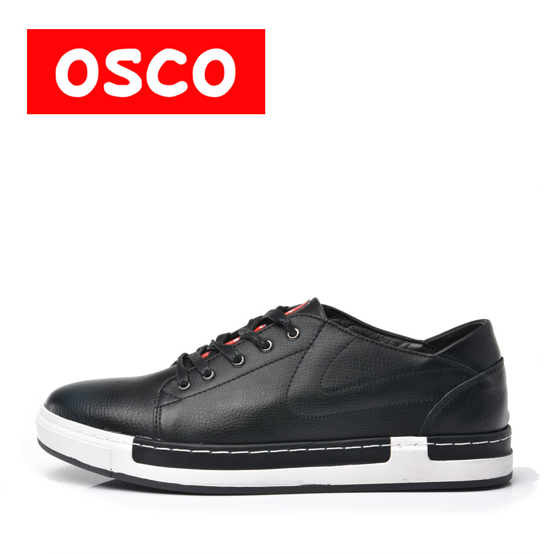 коляски трости esspero all season leather OSCO ALL SEASON New Men Shoes Fashion Men Sneakers COW LEATHER Shoes #A1507