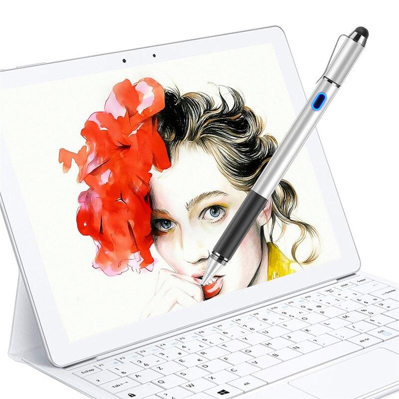 Dewang Active Stylet 2 dans 1 Numérique Crayon avec Passive Embout En Caoutchouc Capacitif Crayon pour Apple Android Écran Tactile dispositifs