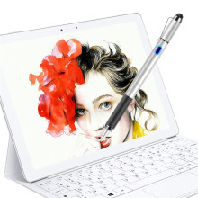 Dewang Active Stylus Pen 2 in 1 Digital Pencil with Passive Rubber Tip Capacitive for Apple Android Touch Screen Devices