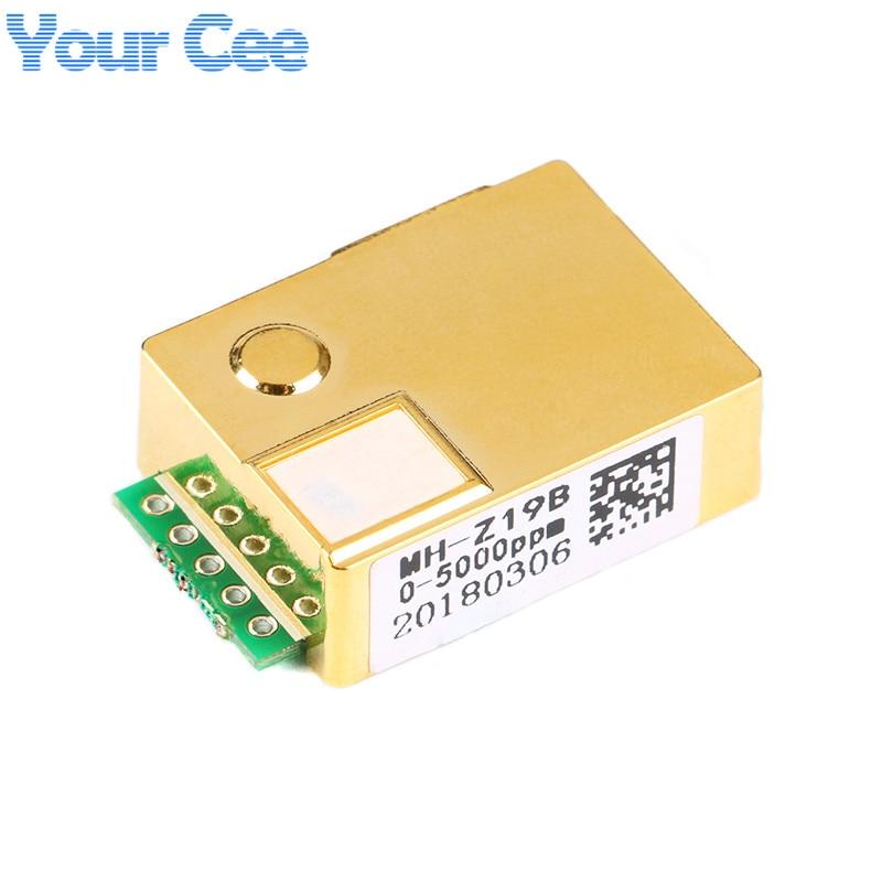 MH-Z19 MH-Z19B NDIR CO2 Módulo de Sensor de infrarrojos de dióxido de carbono co2 Sensor de gas 0-5000ppm