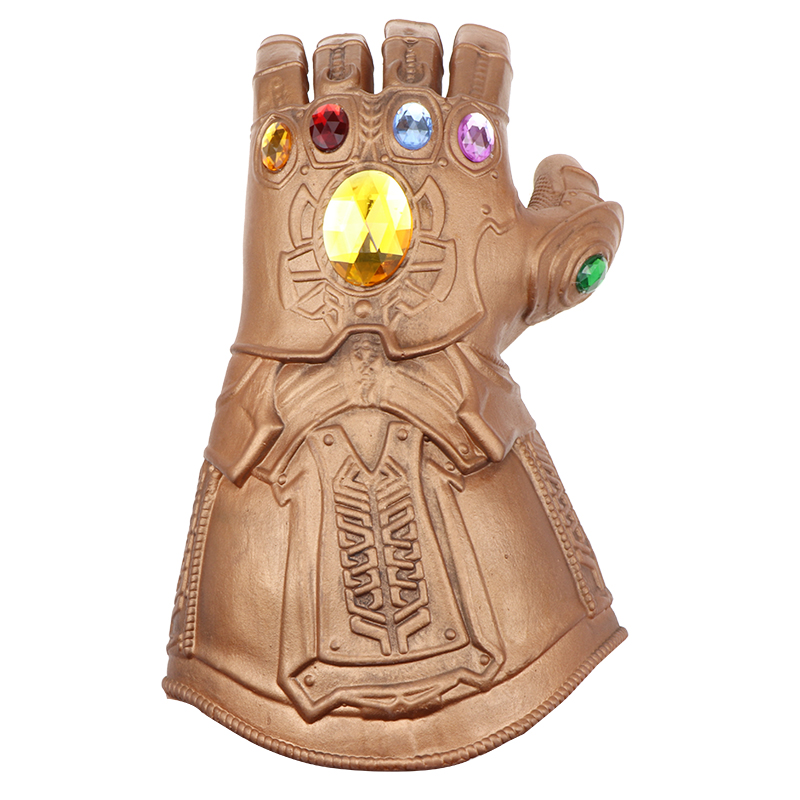 Thanos Glove Cosplay Boy Toys Cosplay Gloves Toys Gift Halloween Accessories