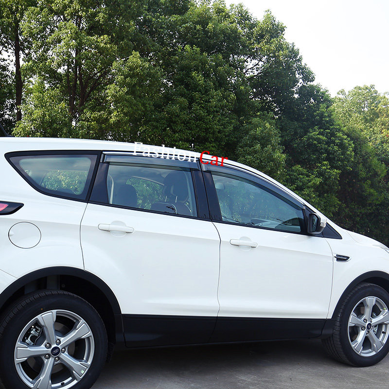 For Ford Escape Kuga 2013 2014 2015 2016 2017 Car Window Visor Vent Shade Rain Sun