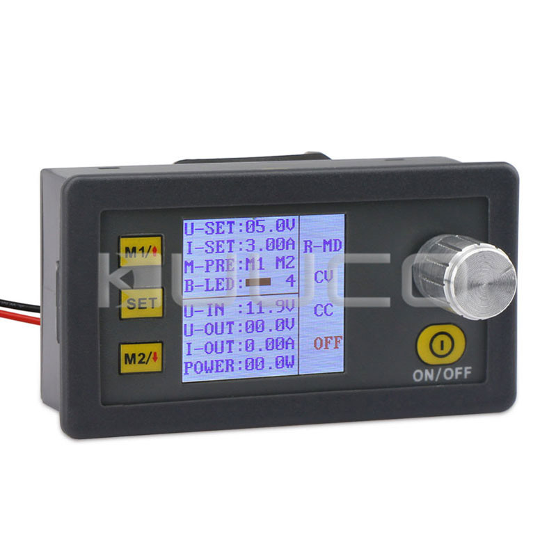Power Supply Module/Panel Meter DC 6~35V to 0~32.0V 3.1A 99W Programmable Adapter/Buck Regulator/CC-CV Converter/Driver Module