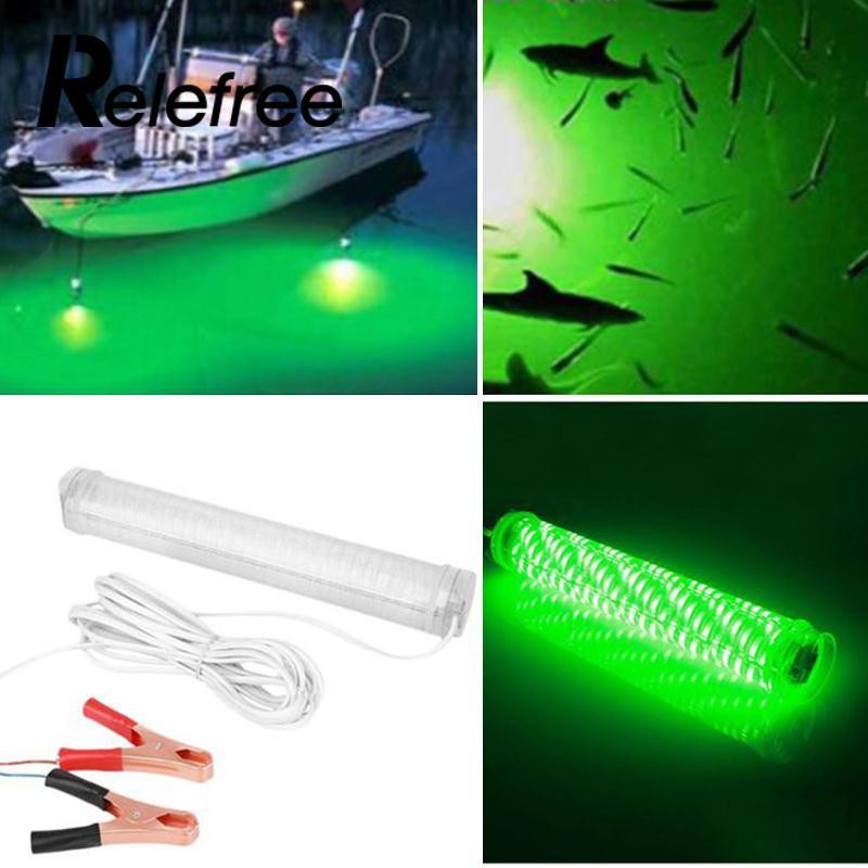 Indicateur de lampe de pêche verte de LED libérable appât Flash allume le crochet de calmar câble de fil de 5 M