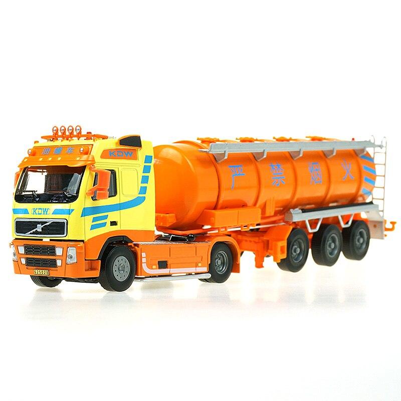 KAIDIWEI enfants jouets pour enfants 1:50 échelle modèle de voiture modèle blaze voiture jouet camion-citerne de pétrole