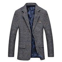 Mwxsd men casual woolen Suit Blazer jacket Men's Slim fit Suits Casual male blazer Suit Jacket blazer masculino homme