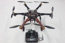JMT F550 Drone FlameWheel Kit With QQ HY ESC Motor Carbon Fiber Propellers + RadioLink 6CH TX RX+Tall Landing Skid PTZ