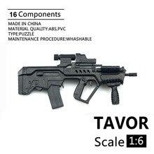 1:6 soldat 4D Montage Modell Israel TAVOR Modell