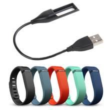 EastVita-Cable de carga USB de alta calidad, Cable de carga de repuesto para pulsera Fitbit Flex