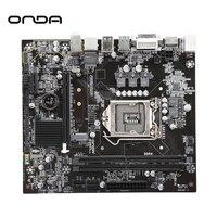 Onda B360T 1151 Pin Desktop Mainboard RECC DDR4 Server CPU Motherboard DDR4 Double Dual channel PCI E X16 For Intel Intel B360 H