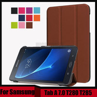 3 In 1 Folio Stand PU Leather Magnetic Cover Case For Samsung Galaxy Tab A 7