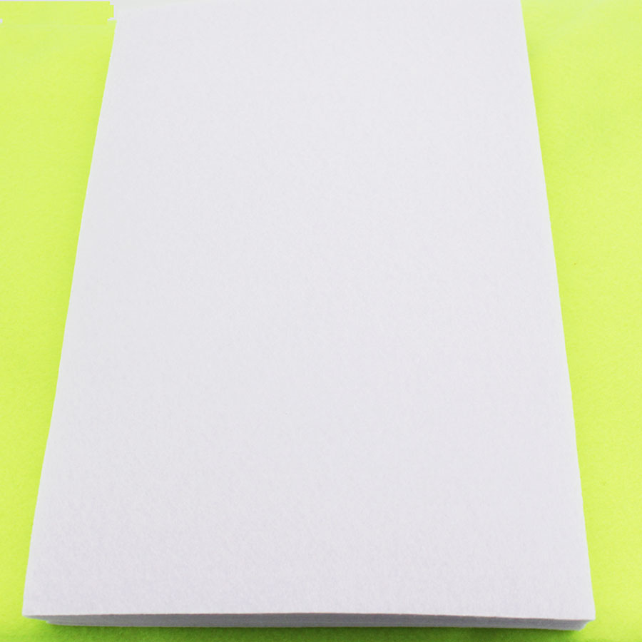 White felt fabric polyester sewing material felt sheet diy for Cloth material for sewing