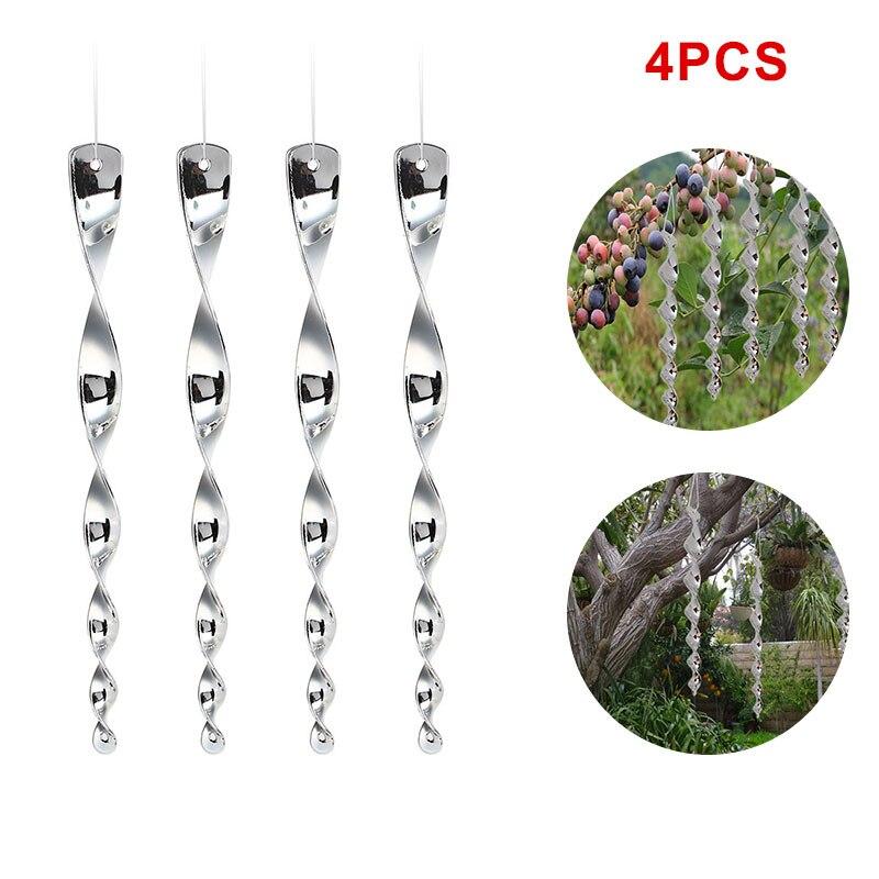 Bird Repellent Scare Rods Bird Scarer Creative Plastic 4PCS/Set Deterrent Tree Hunting Decor Outdoor Garden Supplies Drop Ship