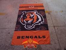 Cincinnati Bengals  Rugby  club flag, Cincinnati Bengals soccer Helmet Match fan banner, flag king 90*150CM polyster