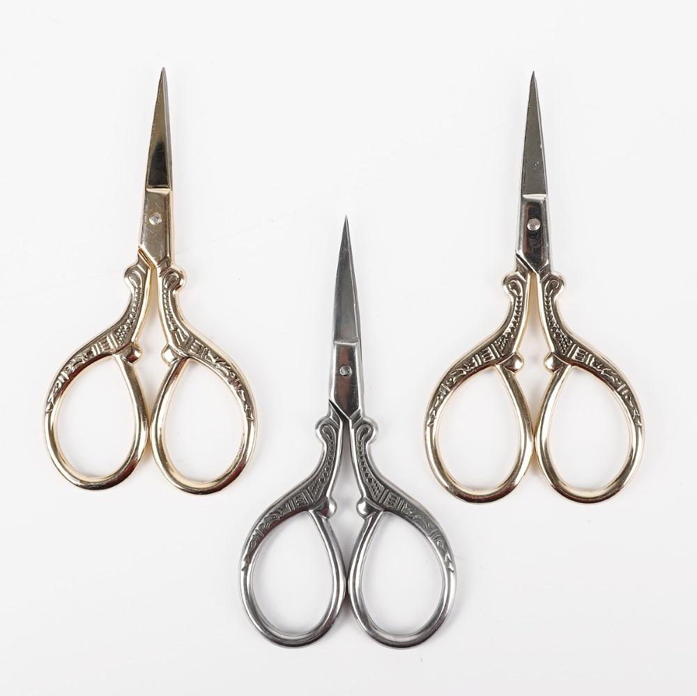 Изысканные ножницы из нержавеющей стали в стиле ретро, 1 шт.