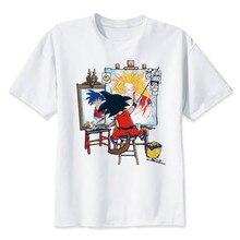 Dragon Ball Fashion Anime Son Goku Funny Dragon Ball Z Comics T-shirt