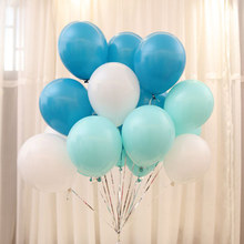 10pcs/lot 10inch 2.2g Pink Blue Latex Balloons Wedding Decoration Baby Shower Birthday Party Event Decor Globos Air