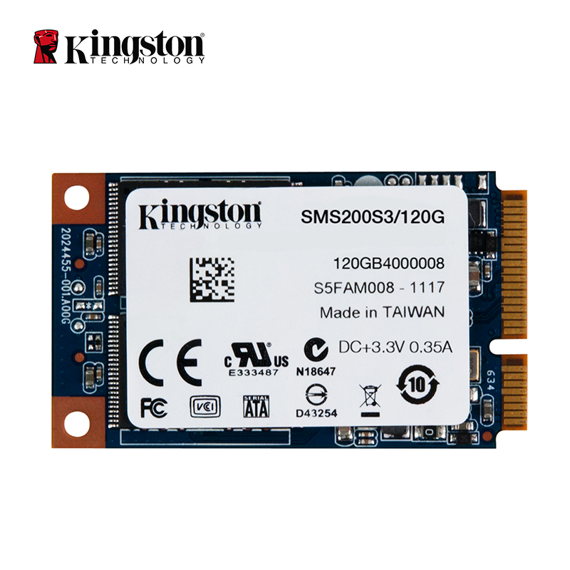 Kingston SSDNow mS200 Drive mSATA SSD solid state drive 120GB Internal Solid State Drive Hard Disk