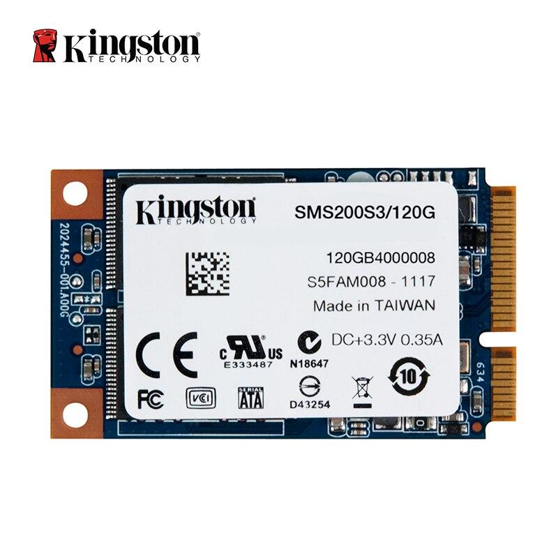 Kingston SSDNow mS200 disque dur mSATA SSD disque solide 120 GB disque dur interne pour ordinateur portable