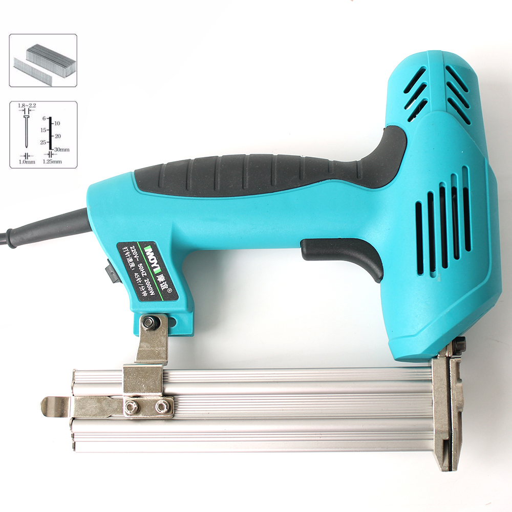 F30 Straight Nail Dedicated 1800W 220-240V 30pcs/min F30 Electric Nailer Gun Electric Stapler Straight Nail Gun Tool For Wood
