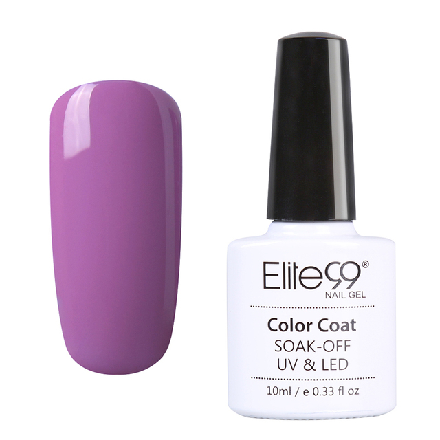 Elite99 UV Nail Polish Bling Shiny Surface