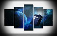 6510 Doctor Who Poster Framed Gallery wrap art print home wall decor wall picture Already to hang digital print wholesale HD