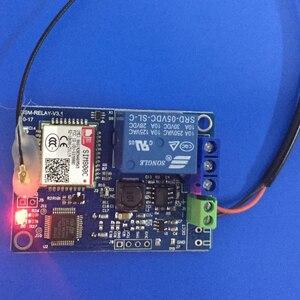 Image 2 - 1 채널/2 채널 릴레이 모듈 SMS GSM 원격 제어 스위치 SIM800C STM32F103CBT6 온실 산소 펌프 FZ3024/FZ3064