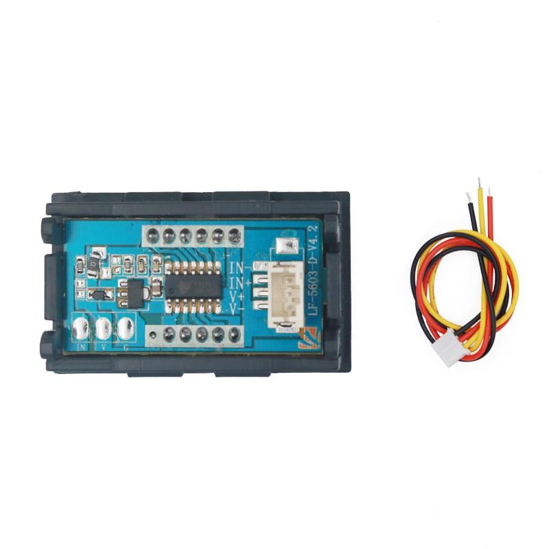 DC 100 V voltmeetri ampermeeter Punane LED-võimendi digitaalse - Mõõtevahendid - Foto 2