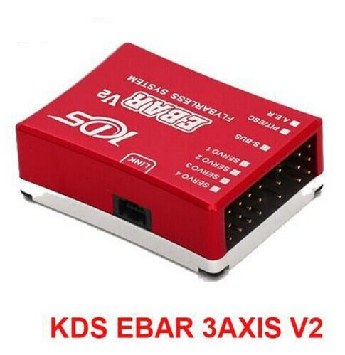 KDS EBAR 3AXIS V2 Sensor PPC FLYBARLESS System three axis gyroscope RC helicopter