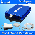 Lintratek HOT 3G Repeater WCDMA 2100Mhz Cell Booster Phone Repeater Amplifier 3G UMTS  Mobile Phone Signal Booster Full Kit S30
