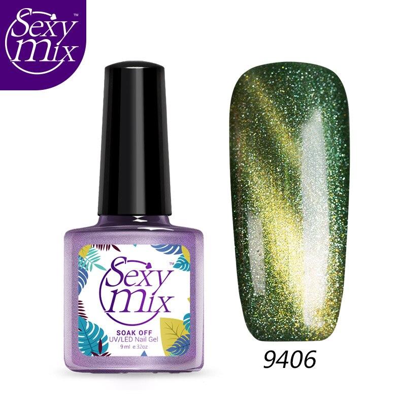 Sexy Mix 9ML Magnetic UV Gel Polish Primer Foundation Nail