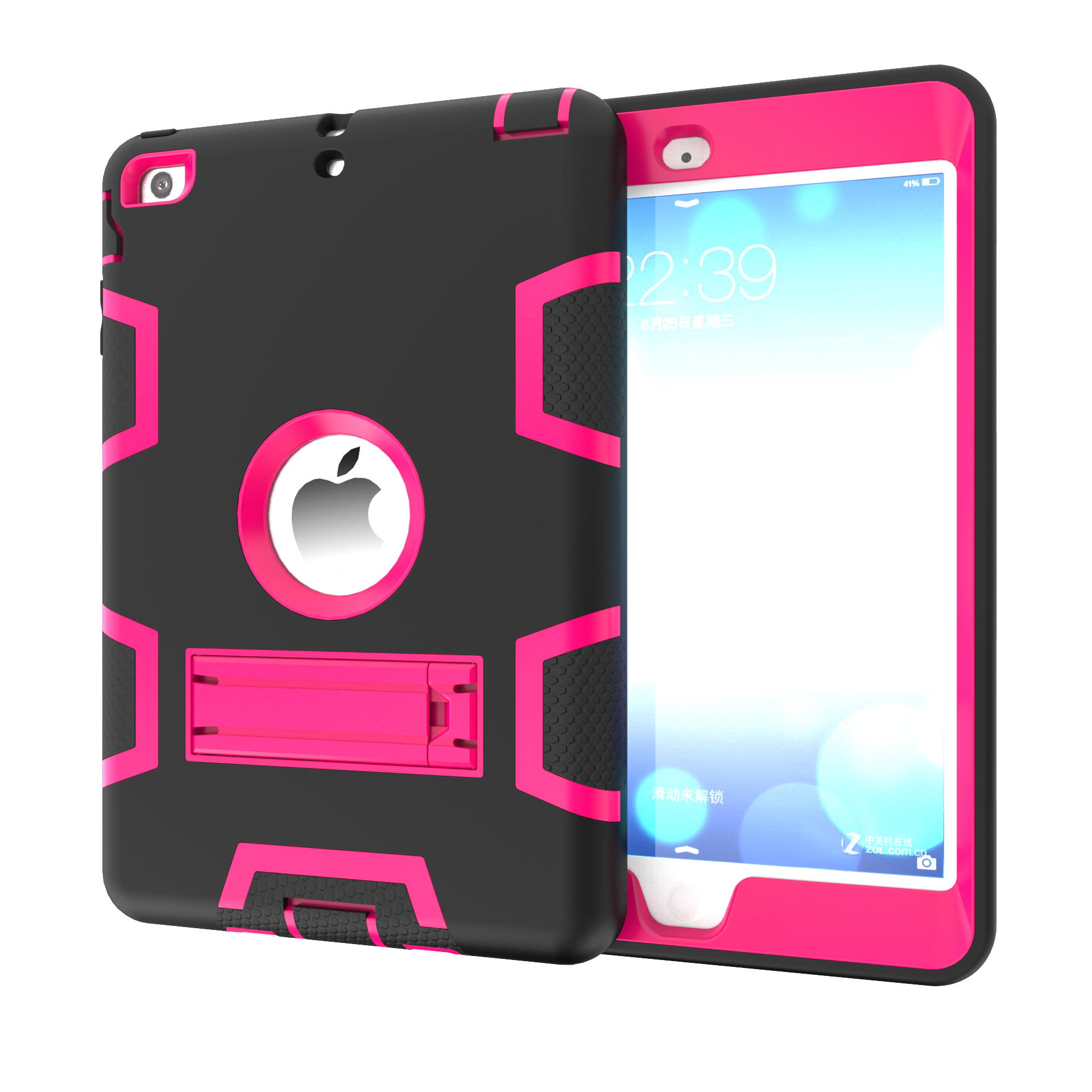 Kid Rugged Hybrid Shockproof Full Protective Case Cover