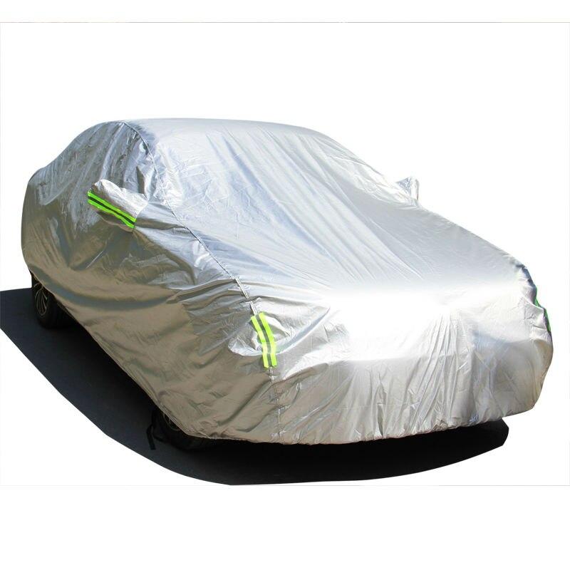 Bâche de voiture couvre voitures pour Ford ecosport edge everest explorer fiesta focus 1 2 3 4 5 fusion Escape étanche protection solaire