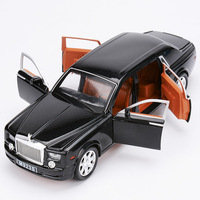 1 24 ROLLS ROYCE DIECAST CAR WITH OPENING DOORS PULL BACK MODEL TOYS ROLLS ROYCE PHANTOM
