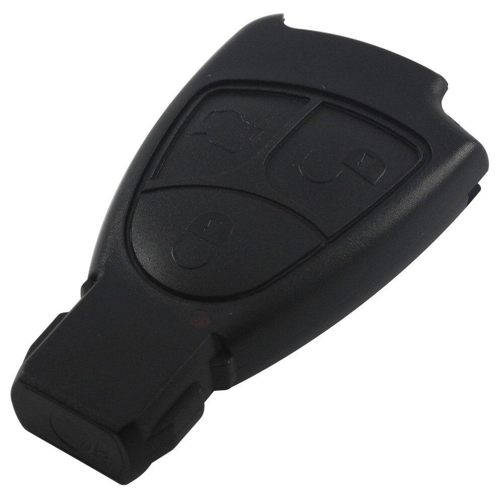 New Uncut Blade Remote Car Key Shell Fob for Mercedes Benz Car Key Case 3 Button