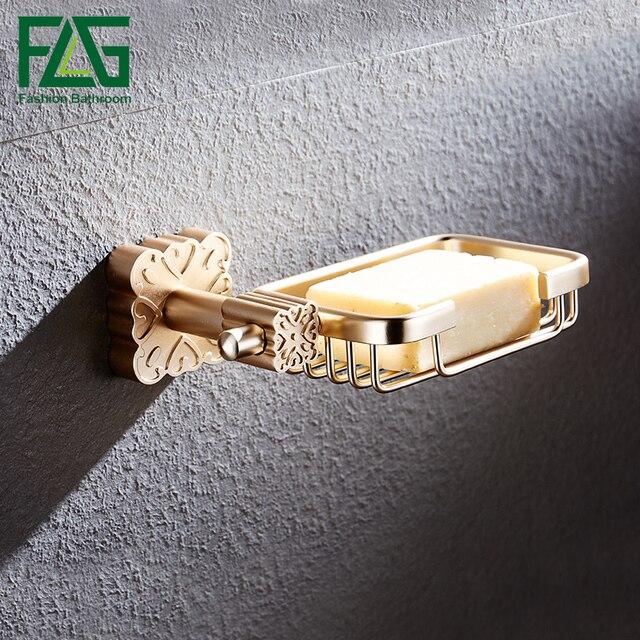 FLG Creative Gold Zeep Mold Muurbevestiging Zeepbakje Voor Zeepbakje ...