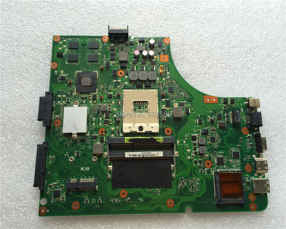 For ASUS K53SD font b Motherboard b font K53SD REV 5 1 PGA 989 100 tested