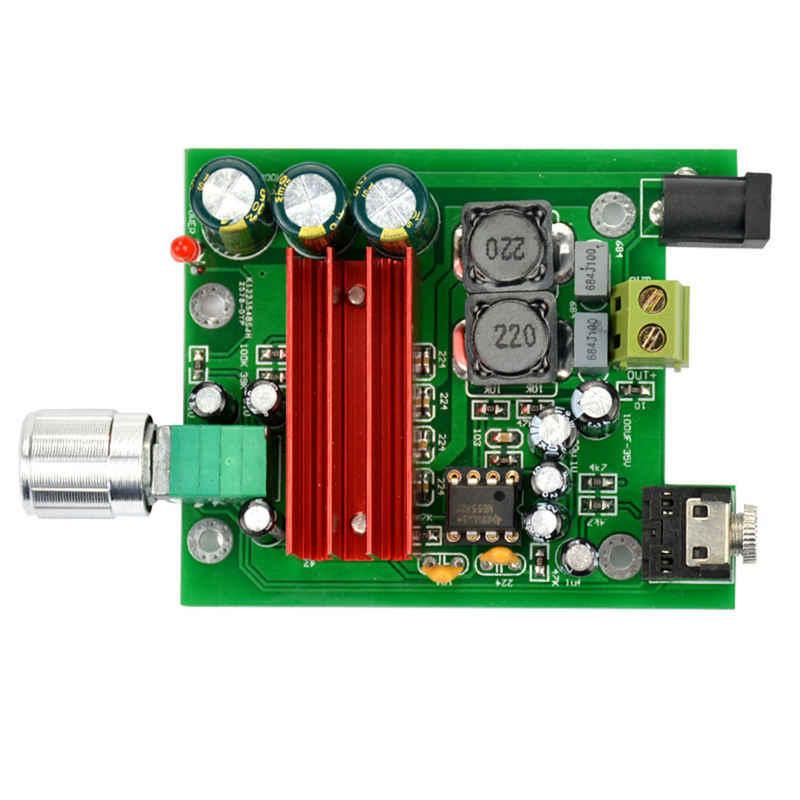 AMS-Tpa3116D2 סאב דיגיטלי מגבר כוח לוח Tpa3116 מגברי 100W אודיו מודול Ne5532 Op Amp 8-25V