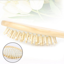 Wooden Bamboo Hair Vent Brushes Care Beauty SPA Massager Comb Health