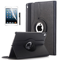 Kemile Case Cover For Apple IPad Pro 9 7 PU Leather Flip Smart Stand 360 Rotating