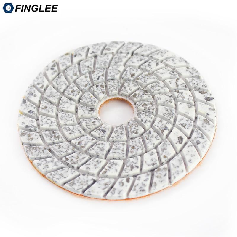 FINGLEE 4 cale 100 mm 3 stopnie na mokro Diamentowe podkładki - Elektronarzędzia - Zdjęcie 5