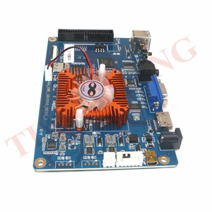 Image 3 - 2448 ב 1 משחק קונסולת PCB 3D ארקייד מכונה לוח תמיכת VGA HDMI עבור HD וידאו משחקי קונסולת פנדורה אוצר