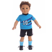 Doll Clothes Football clothing suit Fits 18 Inch  & Boy