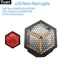 Новый светодиодный светильник в стиле ретро 3x60 Вт RGB 40*0 5 Вт DJ Sound Disco вечерние Клубные мигающие огни танцевальный клуб сценический стробоско...