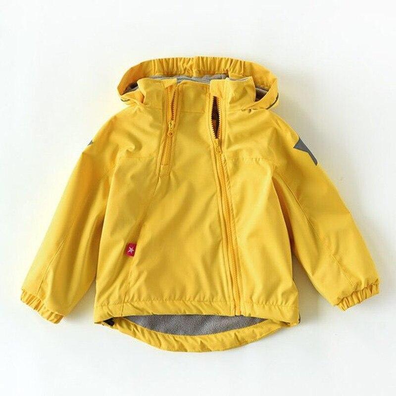 New 2019 spring autumn child kid clothes baby girls boys double deck windproof waterproof jackets outwear inner polar fleece|Jackets & Coats| |  - title=