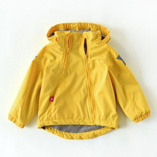 New 2019 spring autumn child kid clothes baby girls boys double-deck windproof w