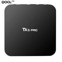 Android 6.0 TX5 PRO Amlogic S905X Quad core Smart TV Box Wifi 4K Kodi Marshmallow Media Player Set top box Better than m8s