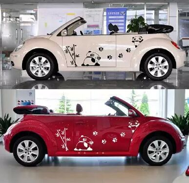 The whole car pull flower stickers cute car vehicle full car stickers cartoon car beauty on aliexpress com alibaba group