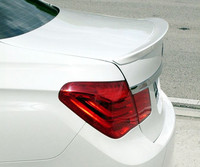 For BMW F01 F02 7 Series Spoiler FRP Material rear trunk wing Lip Spoiler Primer and paint color AC style