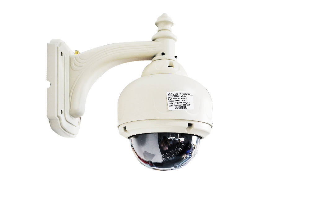 EasyN 1BF 720P 1.0MP 5X Zoom PTZ Outdoor Waterproof Dome Wireless Wifi IP Camera 22 IR LEDs  with TF Card Slot Security Camera